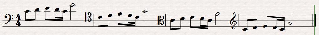 como ler partituras - notas das claves