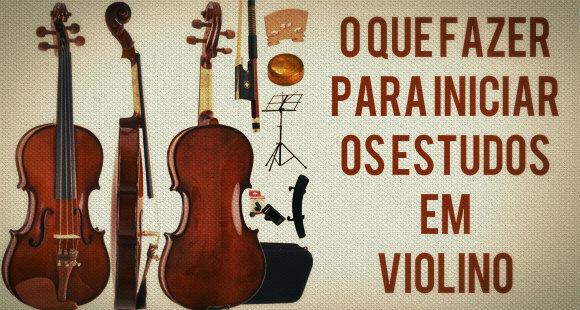 Estudar violino
