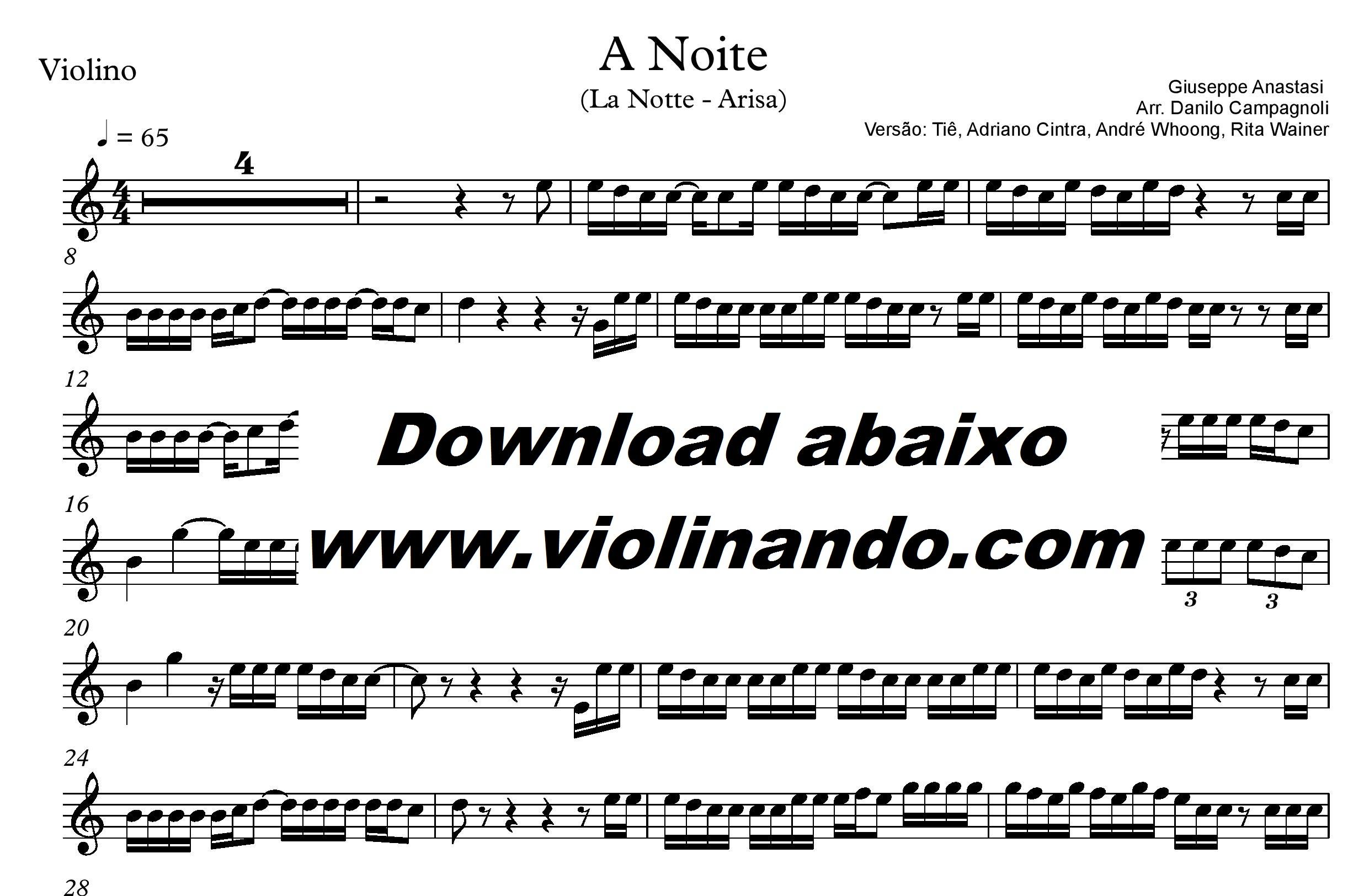 A Noite - Violinando.com