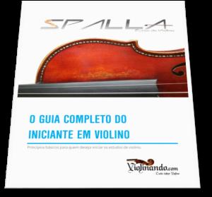 Guia de estudos para iniciantes em violino